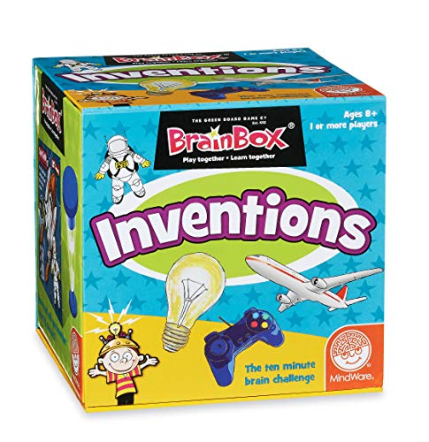 Brain Box Memory Game - BrainBox: Inventions