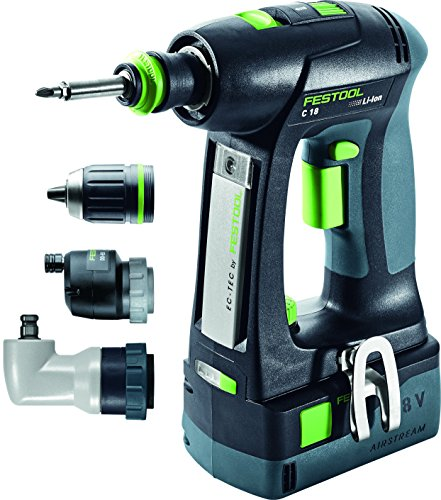 Festool 574735 Cordless Drill C18 Set
