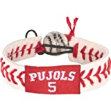 Gamewear Pujols Gamewear MLB Leather Wrist Bands
