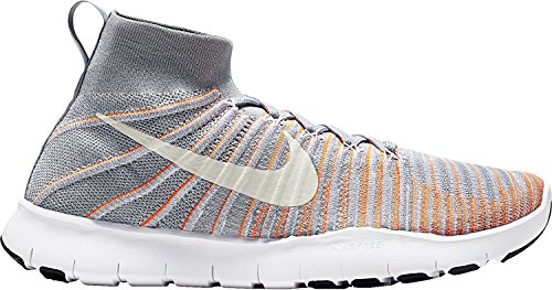 Wolf da Total Uomo Scarpe Ginnastica Train Free Flyknit Grey Nike Orange White Force qwA8PYY
