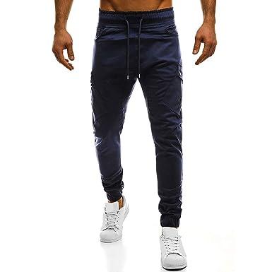Oliviavan Pantalones para Hombre, Personalidad de la Moda Hombre ...