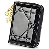 RFID Small Wallet for Women Card Case Leather Wallets Ladies Purse With Zipper