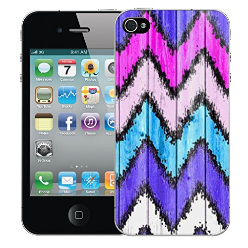 Mobile Case Mate iPhone 4s Silicone Coque couverture case cover Pare-chocs + STYLET - Zigzag pattern (SILICON)