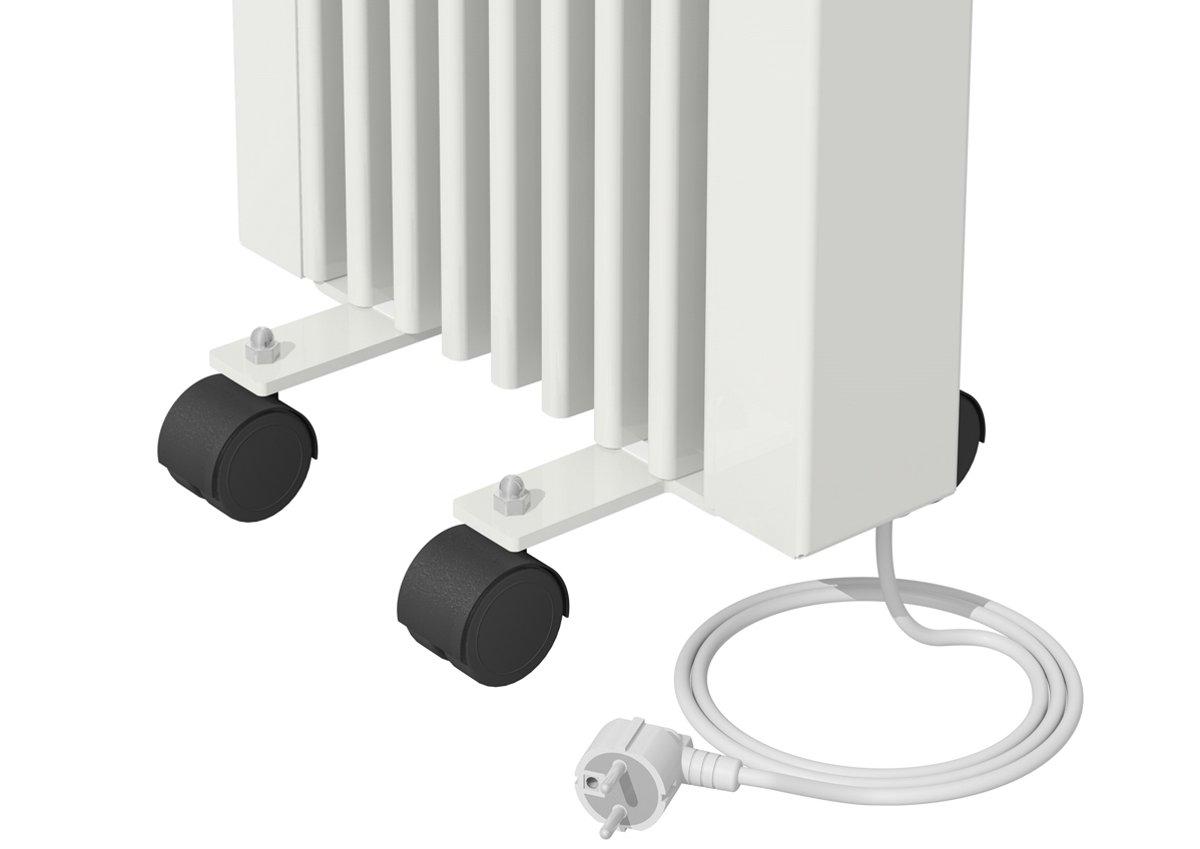 Pies con ruedas para AeroFlow calefacción eléctrica altura 610 mm y 325 mm: Amazon.es: Bricolaje y herramientas