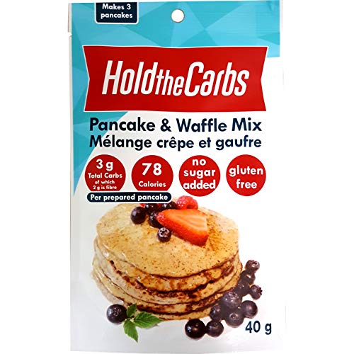 HoldTheCarbs Pancake and Waffle Mix, 40g for sale  Delivered anywhere in Canada