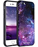 iPhone 6S Plus Case, iPhone 6 Plus Case, BENTOBEN Galaxy Nebula Stars Slim Fit Dual Layer Hybrid Shockproof Hard Back Durable Bumper Protective Case for iPhone 6S Plus/6 Plus (5.5 inch), Black