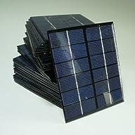 Sunnytech® 1pc 2w 6v 333ma Mini Solar Panel Module Solar System Solar Epoxy Cells Charger DIY