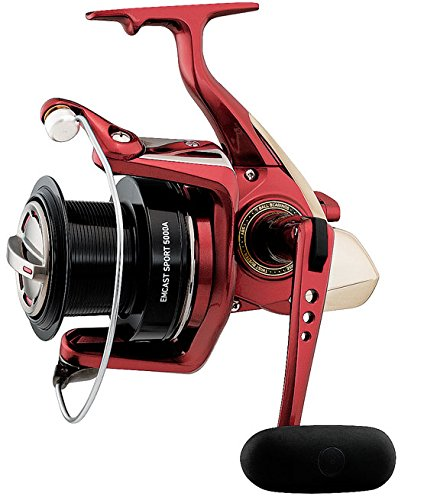 Daiwa EMCS5500A Emcast Sport Test Saltwater Spinning Fishing Reel, 20-30 lb, Blue