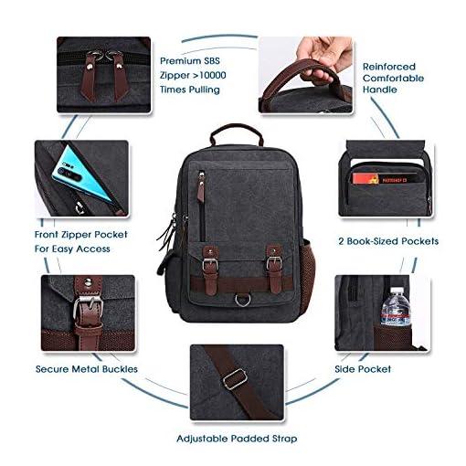 NEW Men Sling Canvas Briefcase Tablet Shoulder Bags Briefcase Messenger Satchel