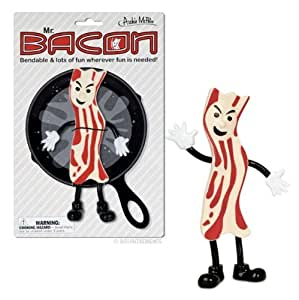 Accoutrements Mr.Bacon Bendable Action Figure