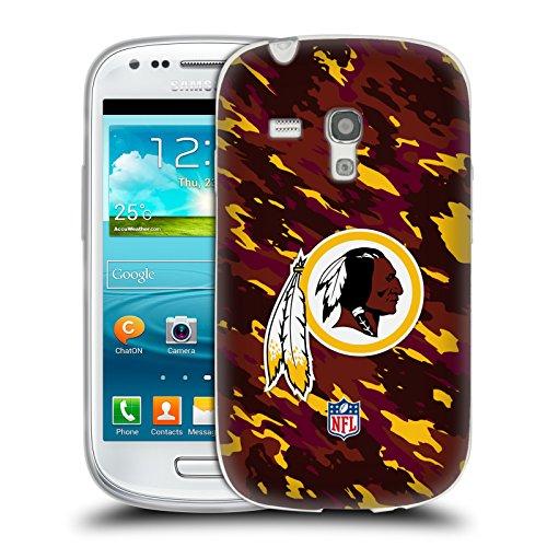 Official NFL Camou Washington Redskins Logo Soft Gel Case for Samsung Galaxy S3 III