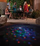 Blue Wave NA4135 Solar Underwater Light Show Floating Pool Light
