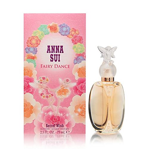 Anna Sui Fairy Dance Secret Wish Eau de Toilette Spray, 2.5 Ounce - Parfum Anna Sui