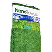 Amazon Lightning Deal 96% claimed: Nano Towels SUPERSIZED Version. The Breakthrough Fabric That Replaces Paper Towels and Toxic Chemical Cleaners. Use As Bath Towels, Kitchen Towels, etc. All Purpose Cleaning Wipes. 26 x 18 in