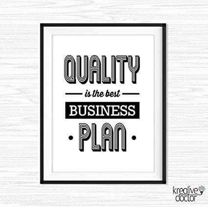 image regarding Quotes Printable identified as : Good results Rates Business office Wall Artwork Printable