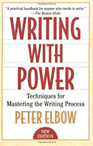peter elbow freewriting Peter elbow university of peter, 7 freewriting: an obvious and easy way to speak onto the page freewriting.
