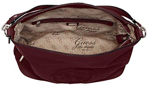 Guess HWVG6538030, Borsa a mano Donna Viola (Bordeaux)