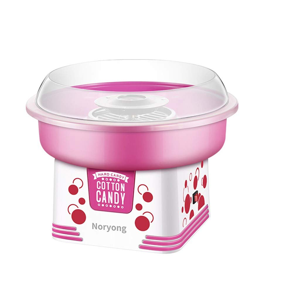 XIEZI-shaokao Children's Cotton Candy Machine Home Fancy Cotton Candy Machine Electric Automatic New in 2019 DIY Small New 500W Pink 323232 by XIEZI-shaokao