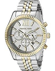 Michael Kors Mens Lexington Two-Tone Watch MK8344