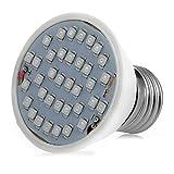MEXUD-E27 106LED Plant Grow Light Lamp Bulb Veg Flower Indoor Hydroponic Full Spectrum (7W/36LEDs) Review