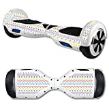 MightySkins Protective Vinyl Skin Decal for Hover Board Self Balancing Scooter mini 2 wheel x1 razor wrap cover sticker Aztec Line