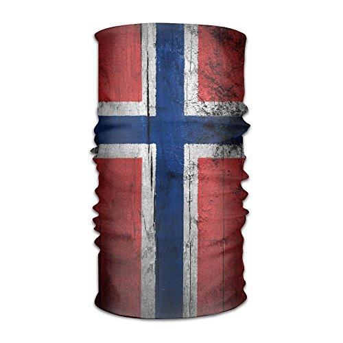 IRON1974 Norway Banner Unisex Sport Scarf Headbands Bandana Outdoor Sweatband Headwear