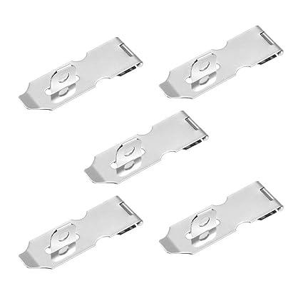 Amazon.com: ALCOMPRA Pasador con candado para candado, 94 mm ...