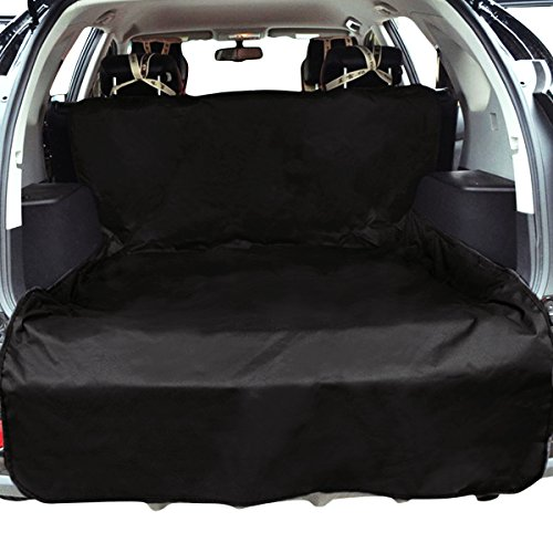 Heavy Duty Bed Mat - Zone Tech Cargo Cover Bed Floor Mat - Classic Black Premium Quality Heavy Duty Waterproof Dog Pet Vehicle Seat Protector and Cargo Liners Fits Most Cars, SUVs, Vans, and Pick-ups