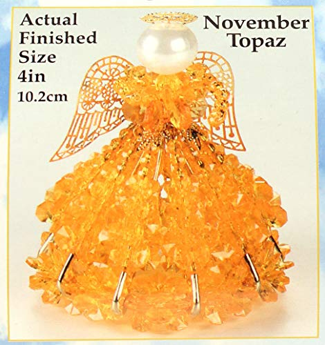 - Birthstone Angel Christmas Ornament Kit 12 Colors/Months (November)
