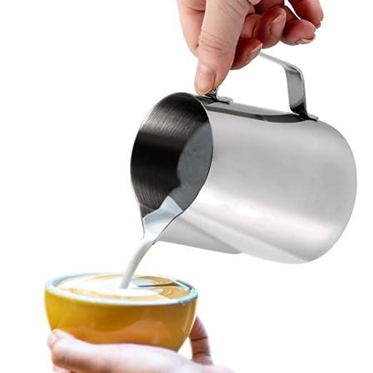 141 opinioni per Dailyart-Bricco per latte Milk-Caraffa per schiumare il latte, in acciaio INOX,
