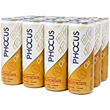 Phocus Caffeinated Sparkling Water (Blood Orange)