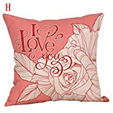 Weiliru Soft Throw Pillow Covers Cases for Couch Sofa Home Decoration Lovers Theme for Your Wife and Mother