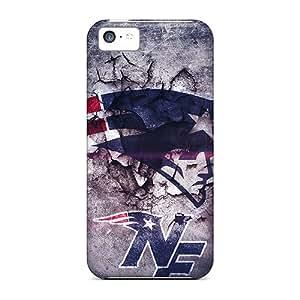 Iphone 5c DEg8822RlKo Customized Attractive New England Patriots Pattern Scratch Resistant Hard Cell-phone Case -AlissaDubois
