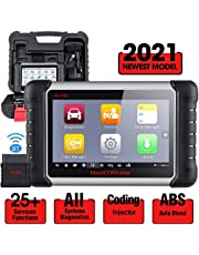 Autel MaxiCOM MK808BT All System OBD2 Diagnostic Scanner with 25 Services Functions, Injector Coding, ABS Auto Bleed, Oil Reset, EPB, BMS, SAS, DPF, Advanced Version of MK808, MX808, 2021 Newest