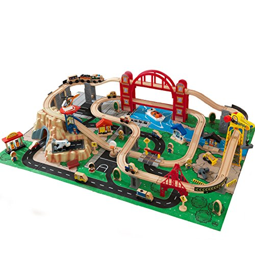 Amazon.com Kidkraft Metropolis Train Set with Roll-Up Felt Play Mat Toys u0026 Games  sc 1 st  Amazon.com & Amazon.com: Kidkraft Metropolis Train Set with Roll-Up Felt Play Mat ...