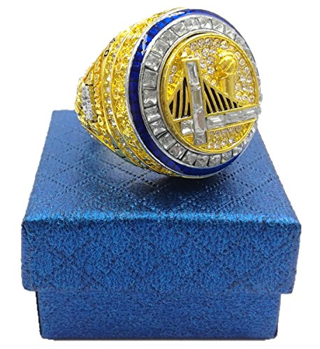 TuoYu Christmas Gift 2017 Warriors Curry Championship Rings Trophy Prize (11)