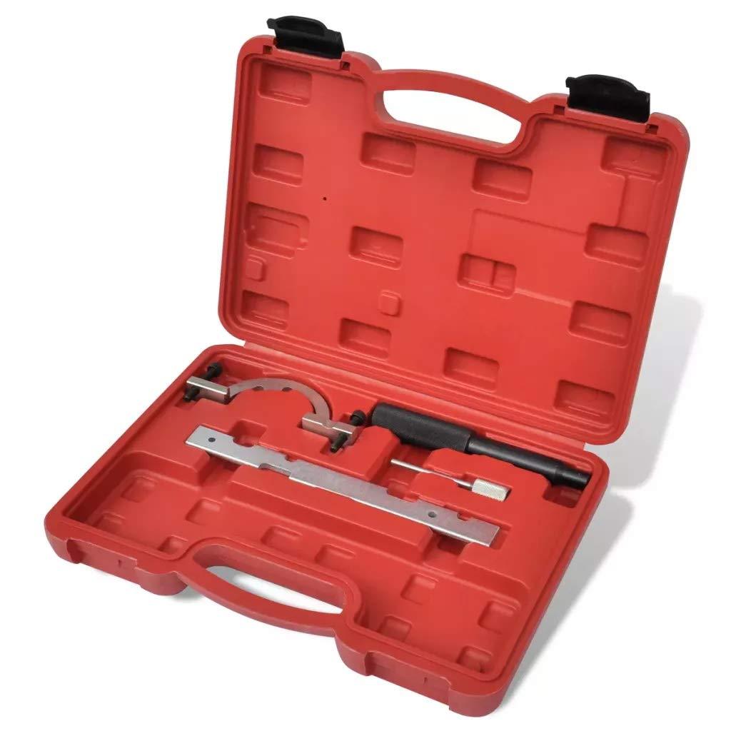 attrezzi manuali con vano portaoggetti per motore X10XE Z12XE X12XE 4 pezzi Z12XEP set di attrezzi per la messa in fase del motore assemblaggio Z14XEL Z10XE Wakects Z10XEP kit di bloccaggio