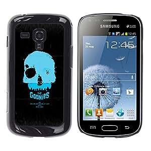 // PHONE CASE GIFT // Duro Estuche protector PC Cáscara Plástico Carcasa Funda Hard Protective Case for Samsung Galaxy S Duos S7562 / Los Goonies /