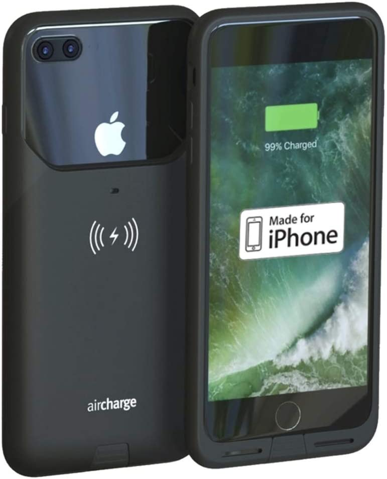 Aircharge Wireless Charging Case für Apple Iphone 7 Plus - Black