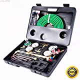COLIBROX--Gas Welding Cutting Kit Oxy Acetylene Oxygen Torch Brazing Fits VICTOR W/Hose,types of welding,gas metal arc welding