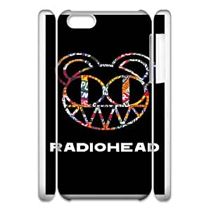 Personalized Durable Cases iphone6 Plus 5.5 3D Cell Phone Case White Radiohead Nmzera Protection Cover