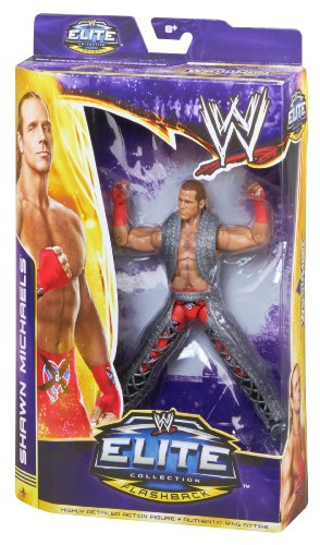 WWE WrestleMania Flashback Elite Shawn Michaels Action Figure