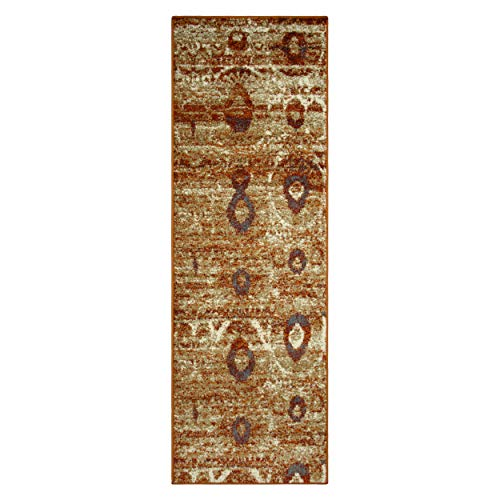 Superior 6mm Pile Height with Jute Backing, Durable, Fashionable and Easy Maintenance, Rosemont Collection Area Rug, 2'7