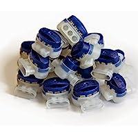 Digisky JUEGO: 50 Unidades resistente al agua Conector de cables para Automower de Husqvarna y Gardena Lawn mower (R40Li…