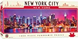 puzzle of new york city - MasterPieces American Vistas Panoramic New York Jigsaw Puzzle, 1000-Piece