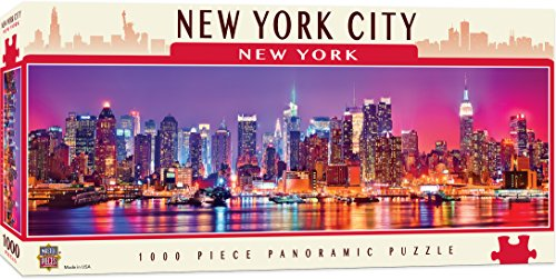 MasterPieces American Vistas Panoramic New York Jigsaw Puzzle, 1000-Piece