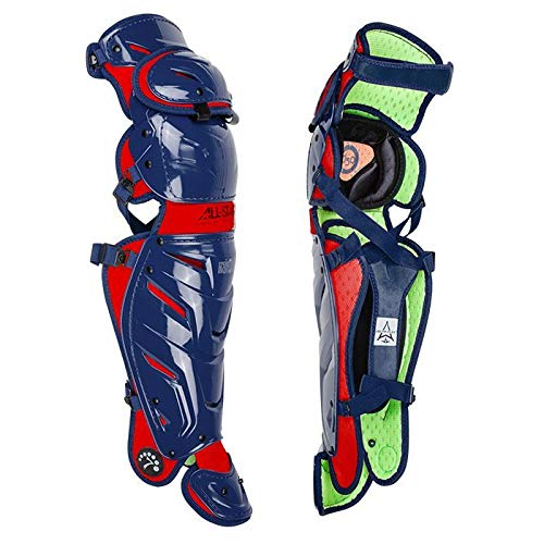 Image of All-Star Adult System 7 Axis Catcher's Leg Guards Sports Medicine