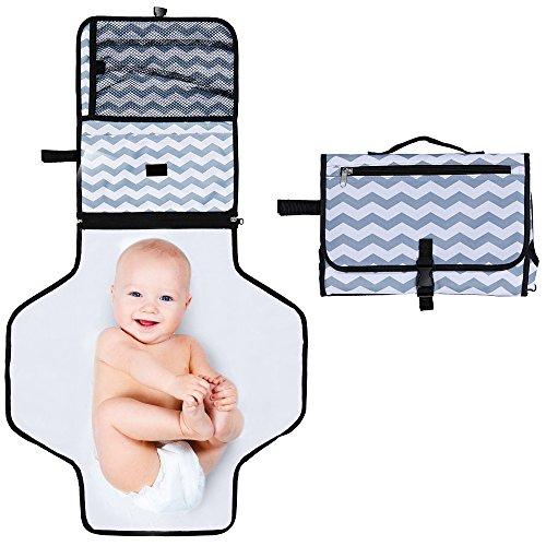 Rovtop Portable Diaper Changing Pad,Foldable Travel Changing Station...