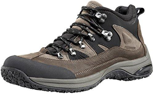 Dunham Men's Cloud Mid-Cut Waterproof Boot, Brown/Brown - 10.5 4E US (Mens New Balance Shoes Hiking)