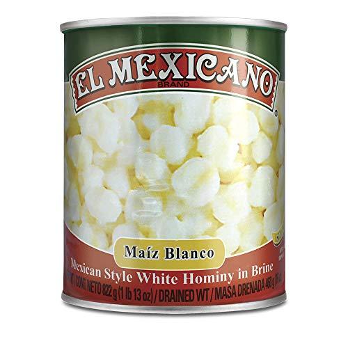 El Mexicano White Hominy 29 oz